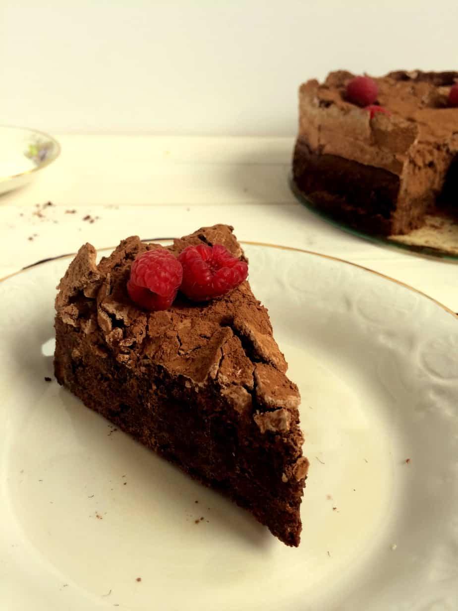 Donna Hays' Chocolate Meringue Cake - Flour & Spice